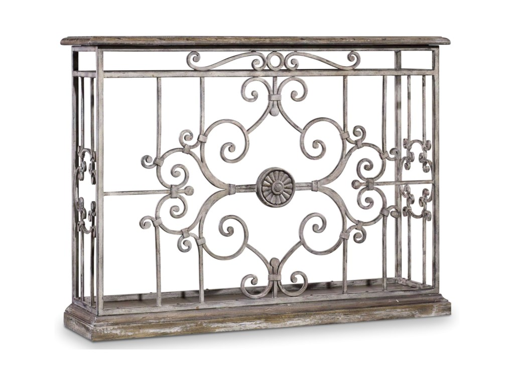 Hooker Furniture ChateletMetal Console