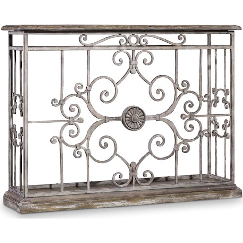 Hooker Furniture Chatelet Metal Console