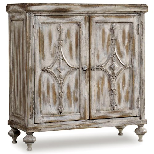 Hooker Furniture Chatelet Hall Console with Adjustable Shelf