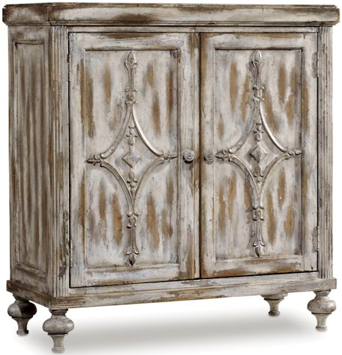 Hamilton Home Chatelet Hall Console with Adjustable Shelf