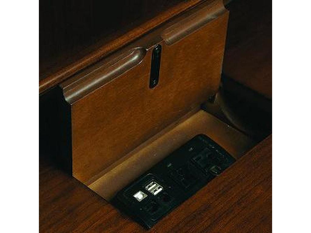 Hooker Furniture Cherry Creek Computer Credenza