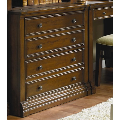 Hooker Furniture Cherry Creek  Traditional Lateral File