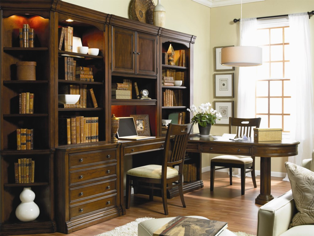 Shown with Lateral File with Hutch, Desk Chair, Wall Desk with Hutch, and Partner Desk