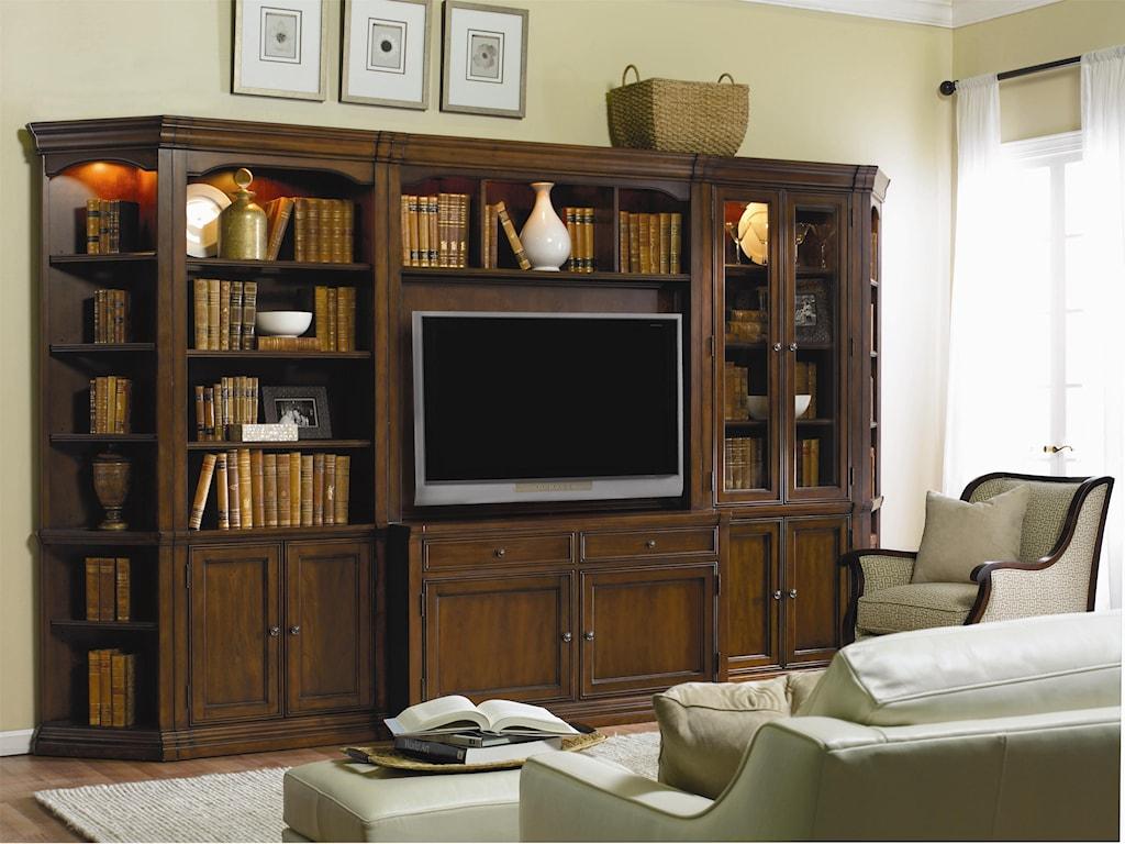 Hooker Furniture Cherry Creek Wall Storage Cabinet