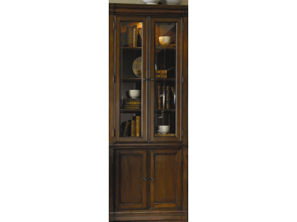 Furniture Cherry Creek Wall Curio Cabinet