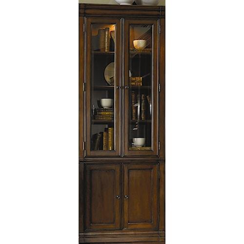 Hooker Furniture Cherry Creek  Wall Curio Cabinet
