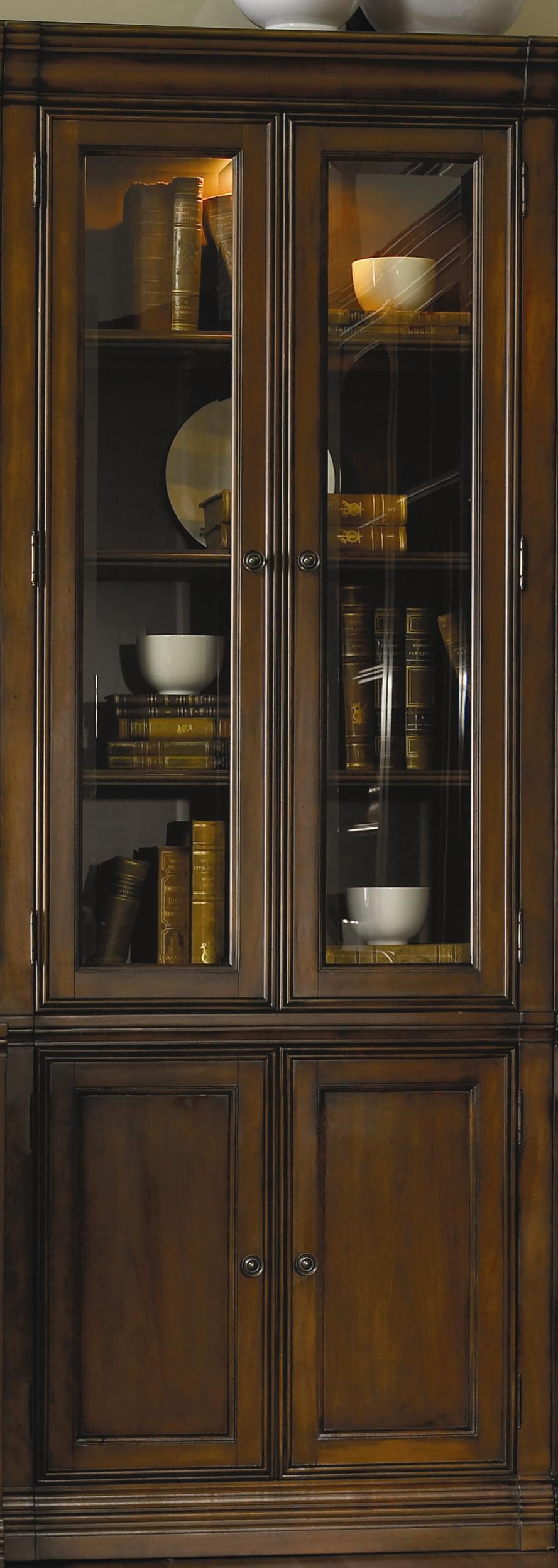 Hooker Furniture Cherry Creek Wall Curio Cabinet ...