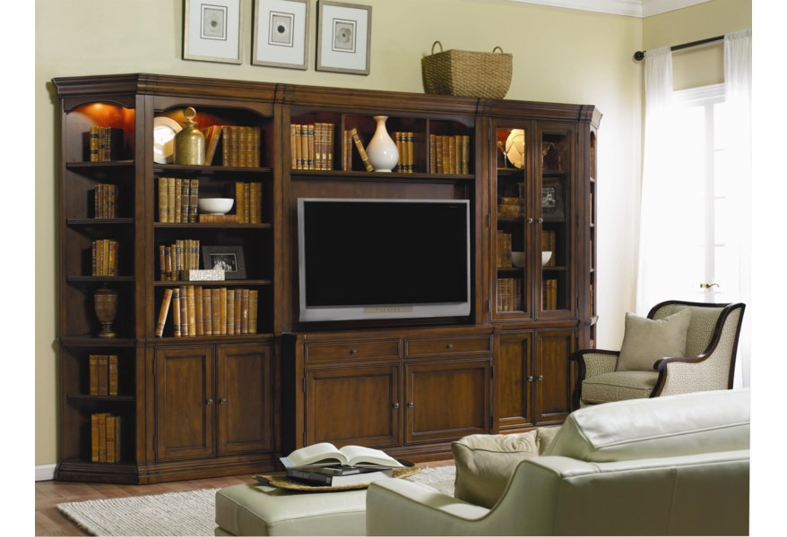 Hooker Furniture Cherry Creek Traditional Modular Wall