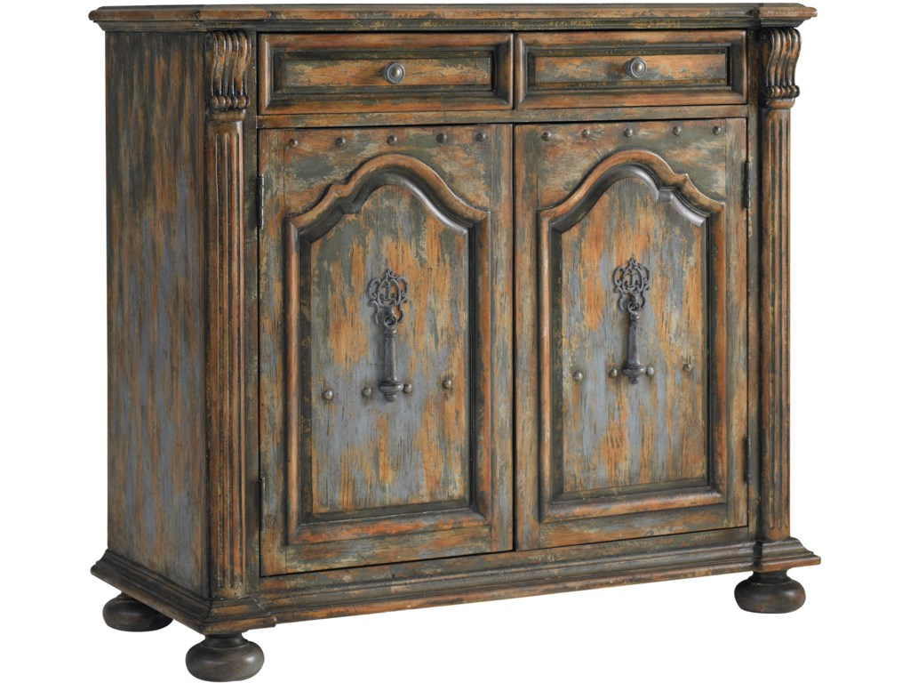 Hooker Furniture Chests and ConsolesTwo-Door Two-Drawer Chest