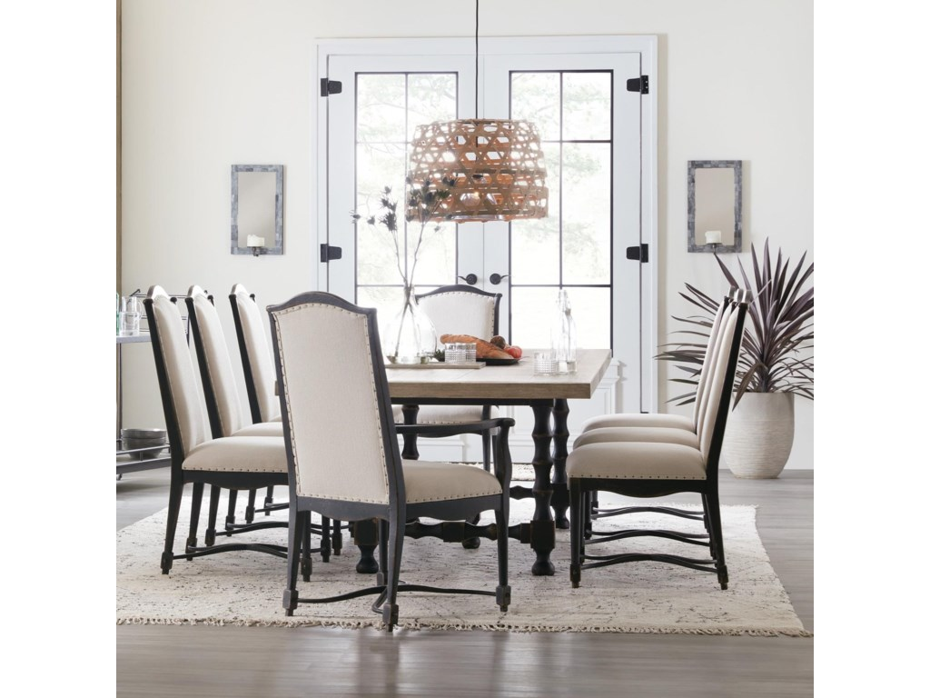 Hooker Furniture Ciao Bella9-Piece Table and Chair Set