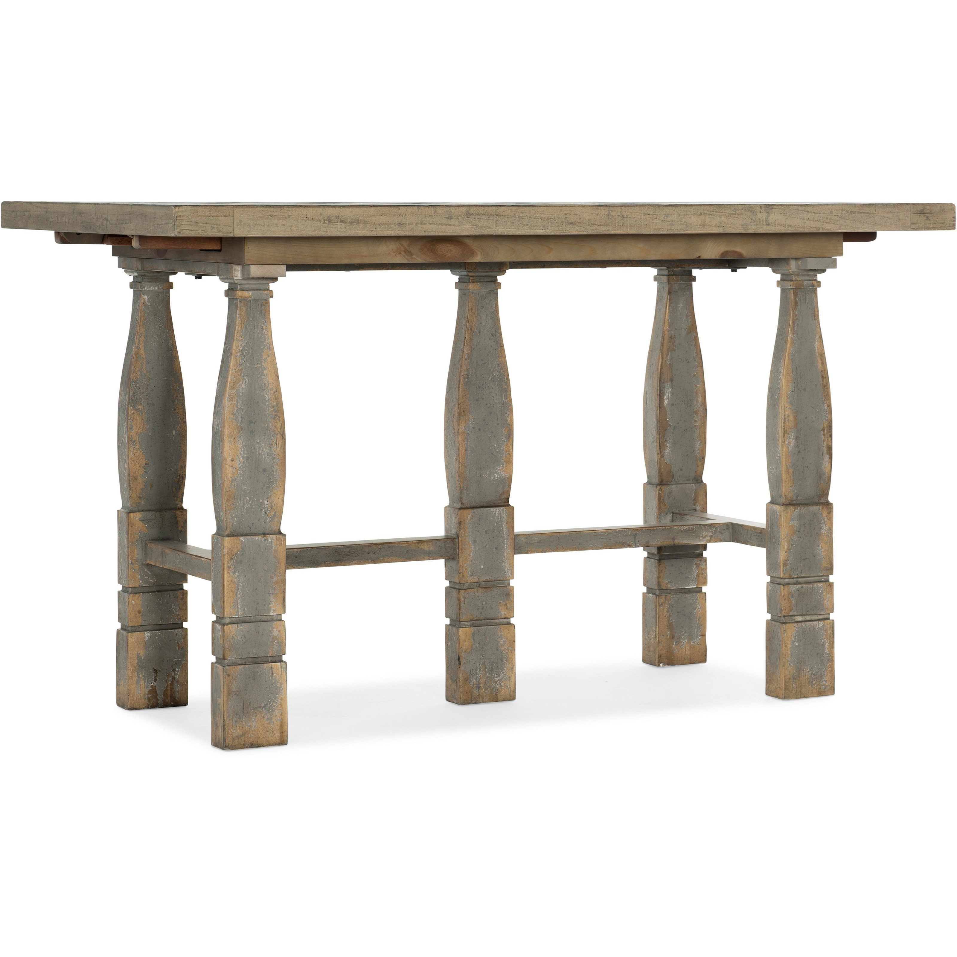 Two-Tone Friendship Table with Leaves