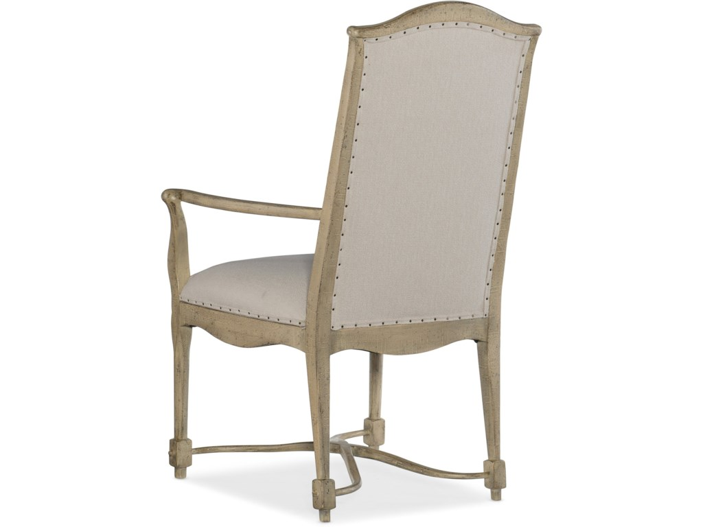 Hooker Furniture Ciao BellaUpholstered Back Arm Chair