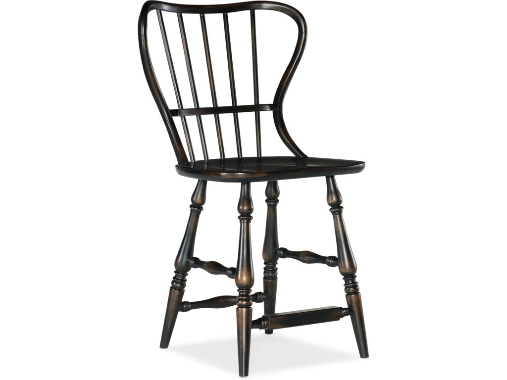 Hooker Furniture Ciao BellaSpindle Back Counter Stool