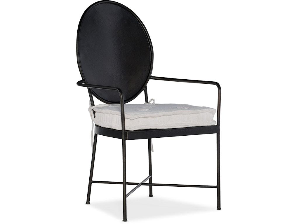 Hooker Furniture Ciao BellaMetal Arm Chair