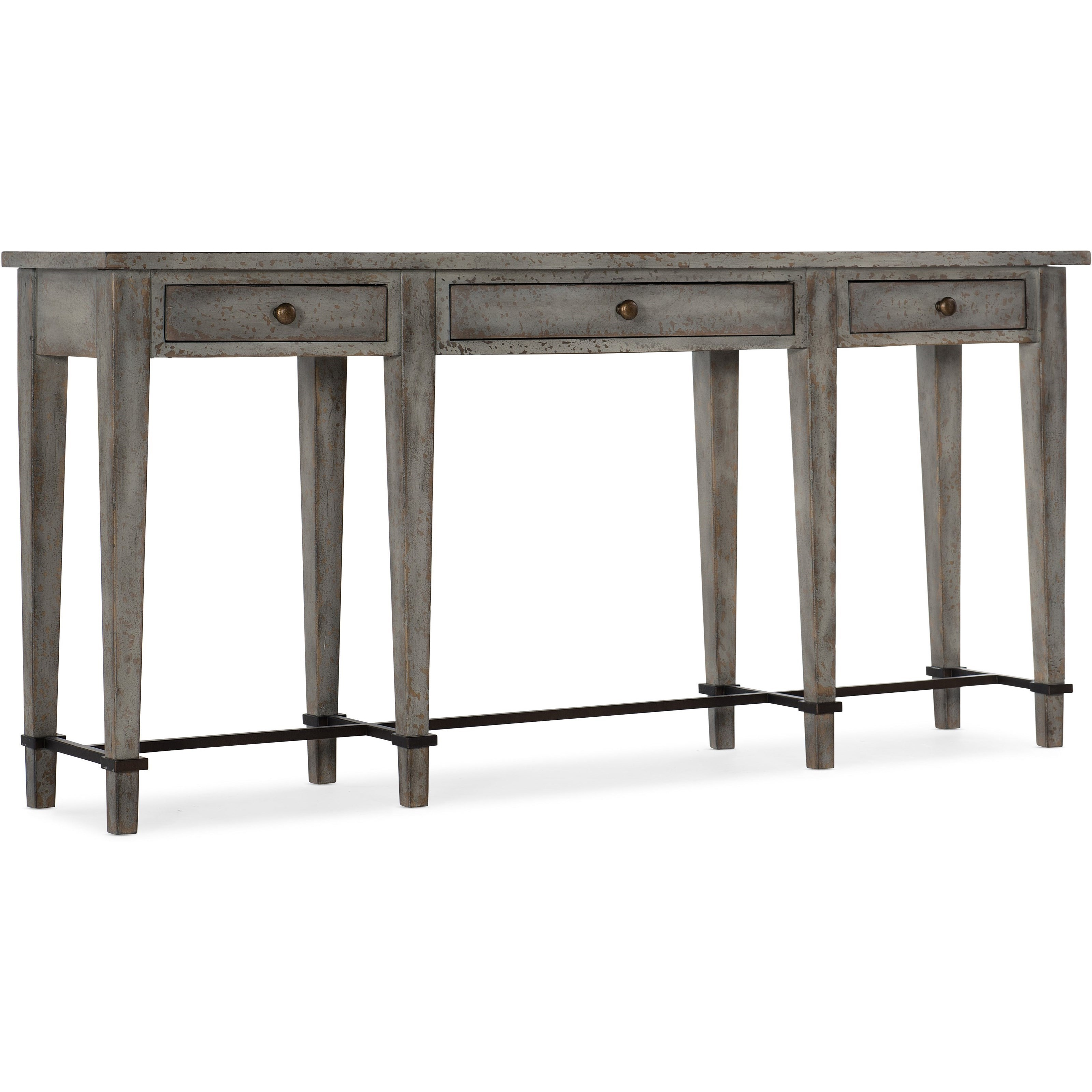 Ciao Bella Transitional Narrow Console By Hooker Furniture