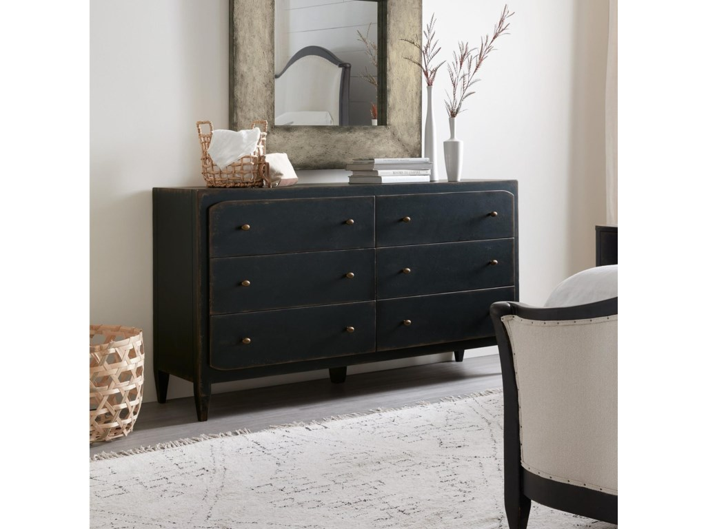 Hooker Furniture Ciao Bella6-Drawer Dresser