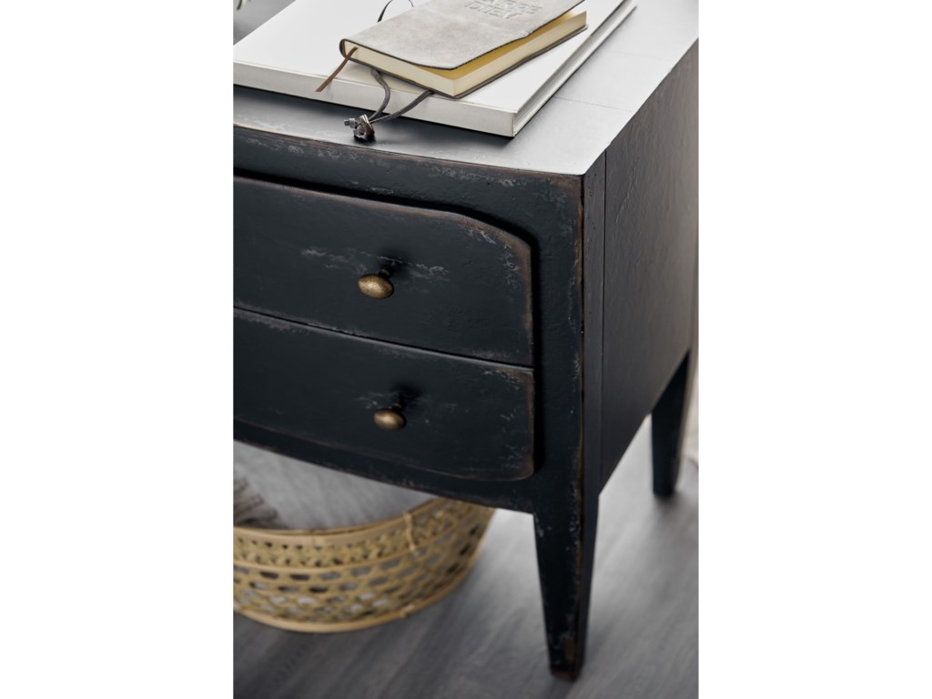 Hooker Furniture Ciao BellaRustic 2-Drawer Nightstand