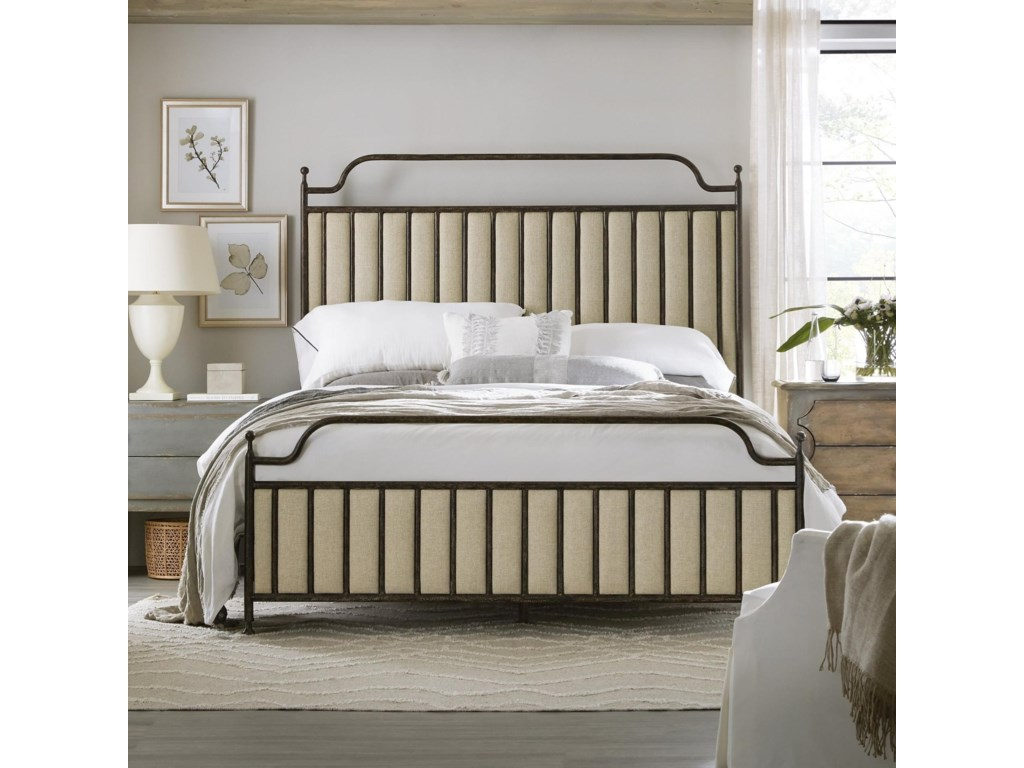 Hooker Furniture Ciao BellaKing Metal Bed