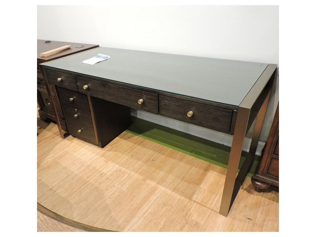 Hooker Furniture ClearanceWriting Desk With Mobile File Cabinet