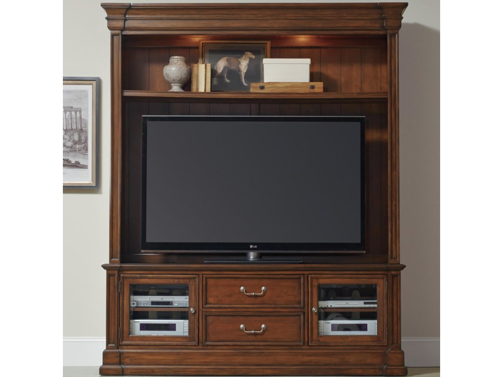 Hooker Furniture ClermontFour Piece Entertainment Group