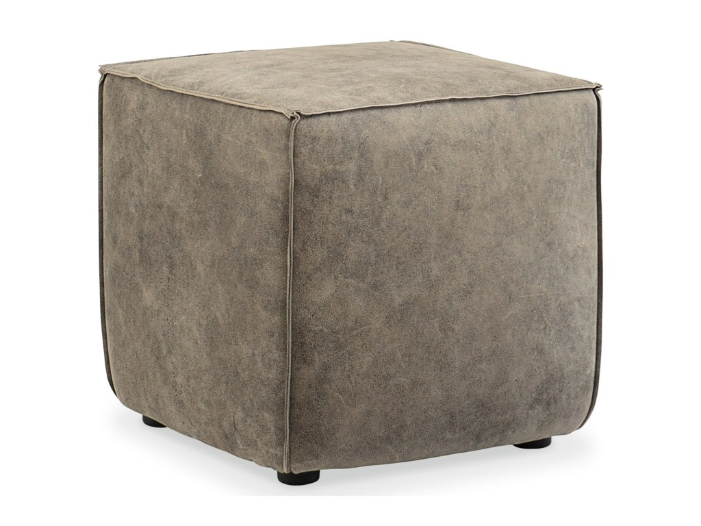 Hooker Furniture CO39Quebert Cube Ottoman