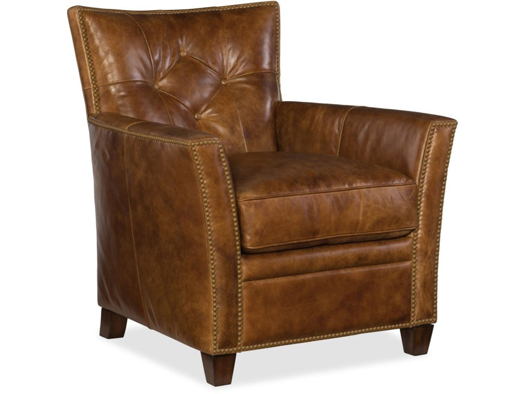 Hooker Furniture Conner CC503Leather Club Chair