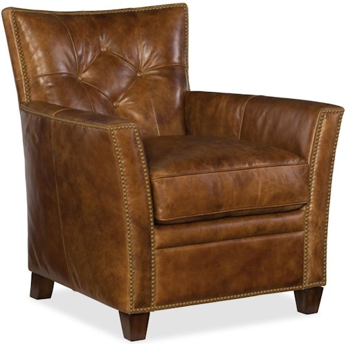 Hooker Furniture Conner CC503 Leather Club Chair