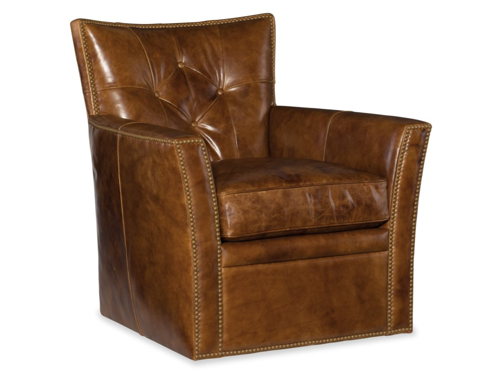 Hooker Furniture ConnerSwivel Club Chair