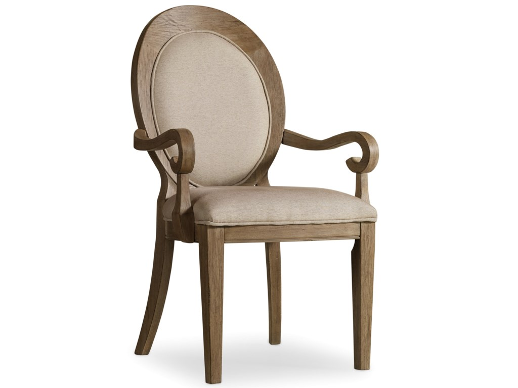 Hooker Furniture CorsicaOval Back Arm Chair