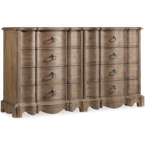 Hooker Furniture Corsica Dresser with 8 Drawers