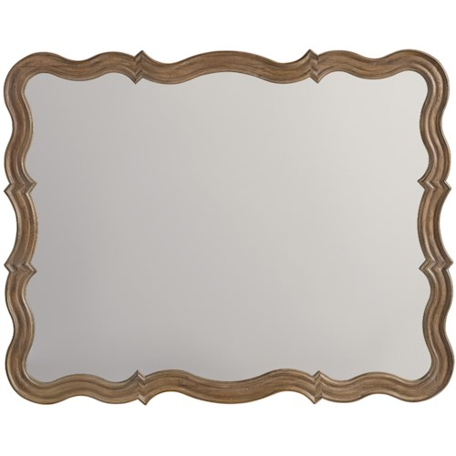 Hooker Furniture Corsica Mirror with Serpentine Frame