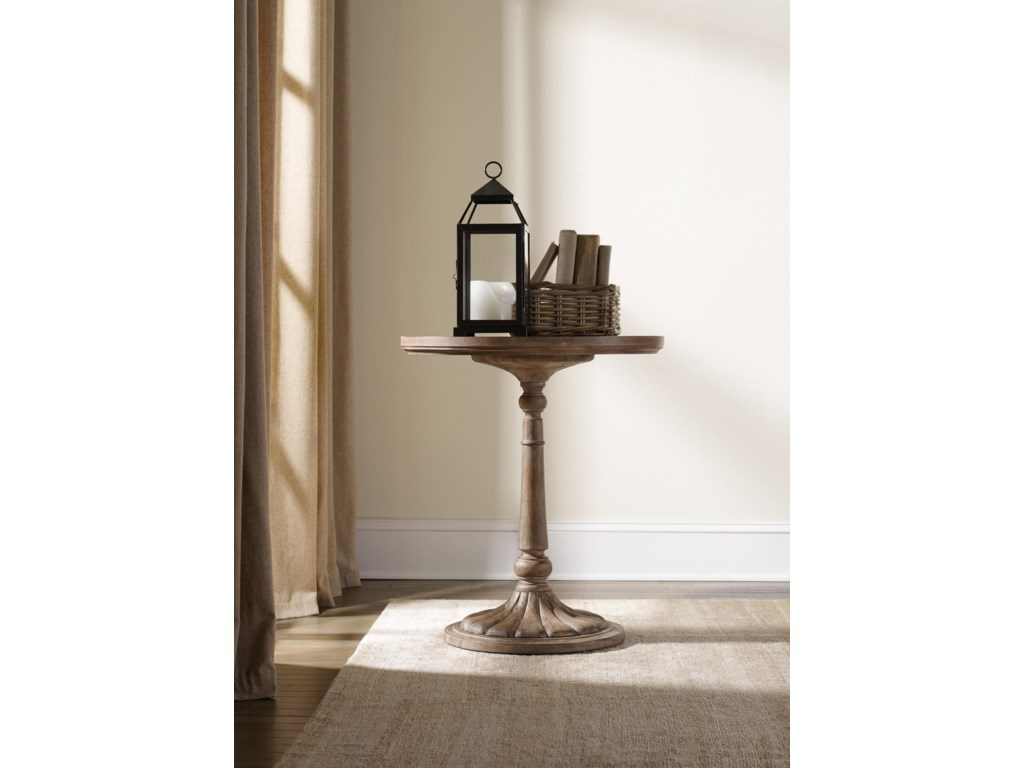 Hooker Furniture CorsicaRound Bedside Table