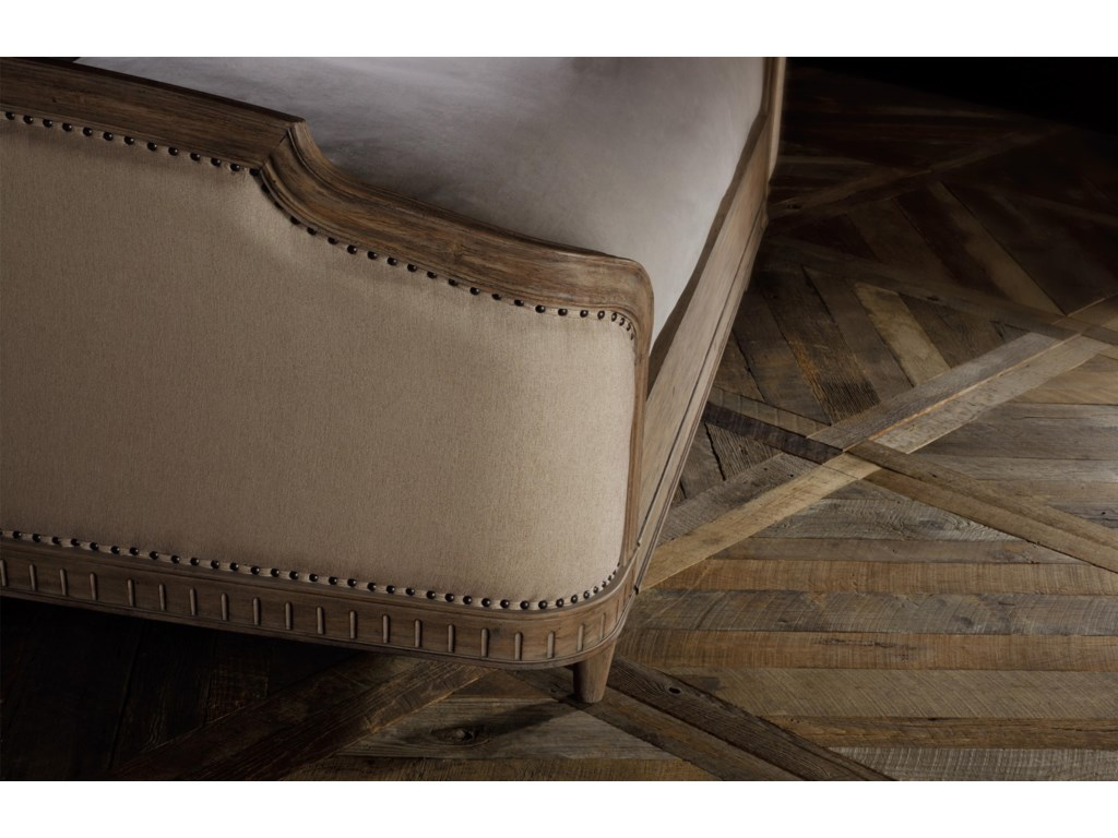 View of Upholstered Footboard