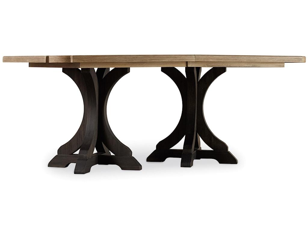 Hooker Furniture CorsicaRectangle Pedestal Dining Table