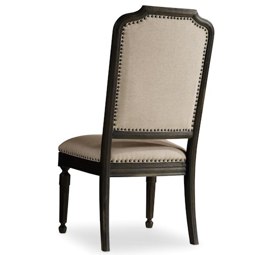 Hooker Furniture Corsica Upholstered Side Chair with Nailhead Trim