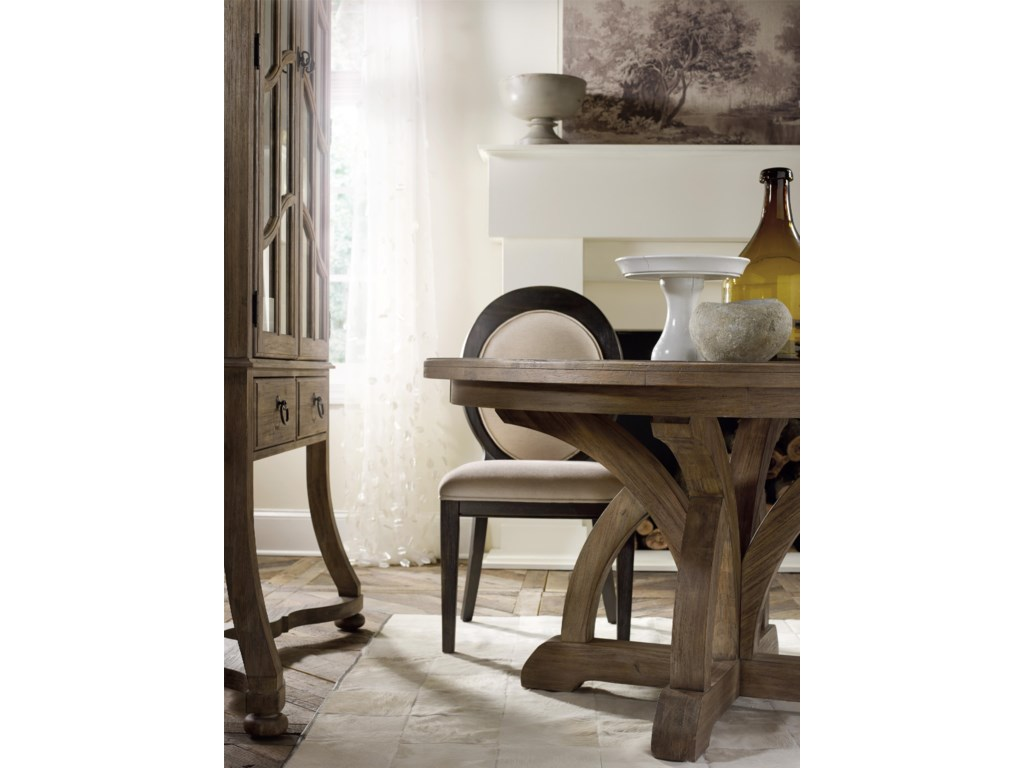 Hooker Furniture CorsicaOval Back Side Chair