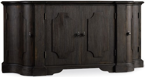 Hamilton Home Corsica Credenza with Felt Lined Tray Drawer