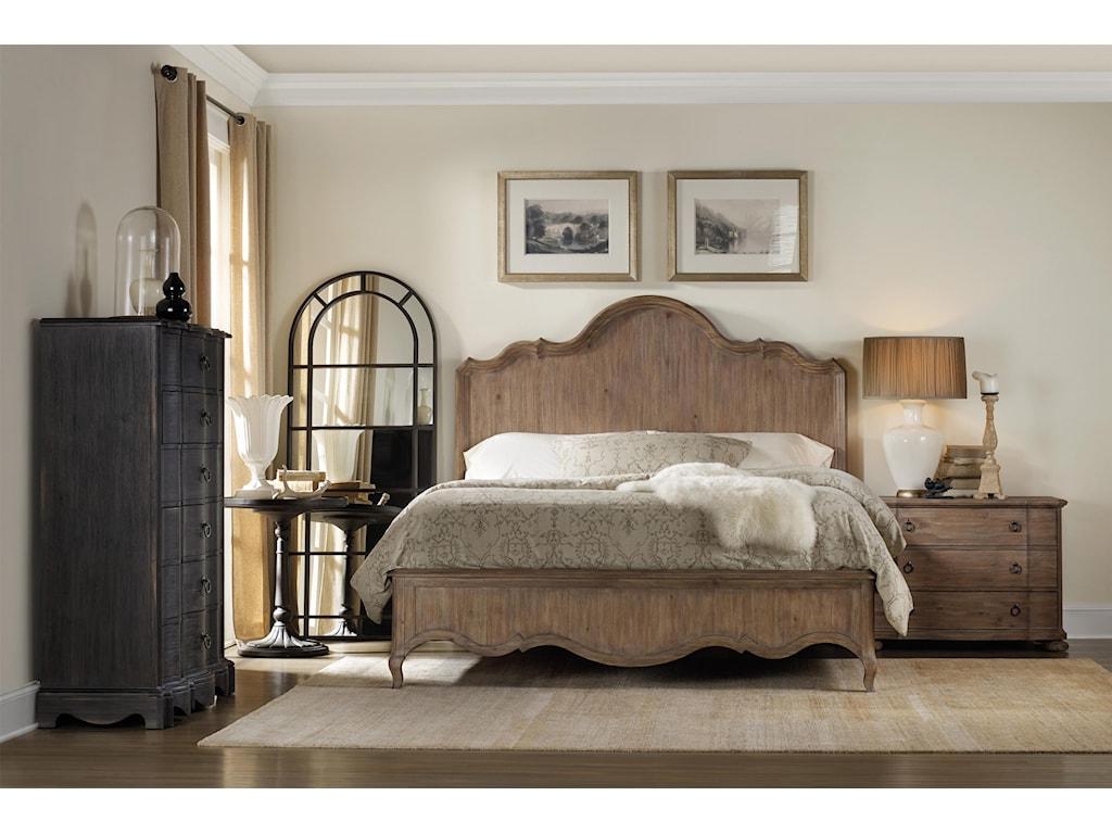 Hooker Furniture CorsicaRound Bedside Table