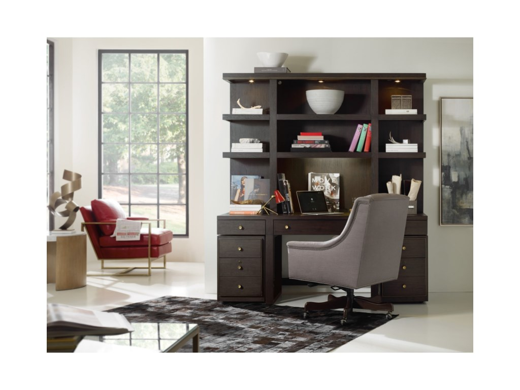 Hooker Furniture CurataModern Wooden Lateral File