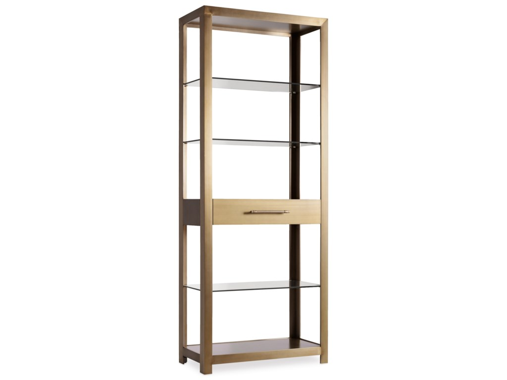 Hooker Furniture CurataModern Open Bookcase