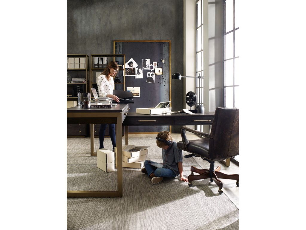 Hooker Furniture CurataModern Two Piece Desk Group