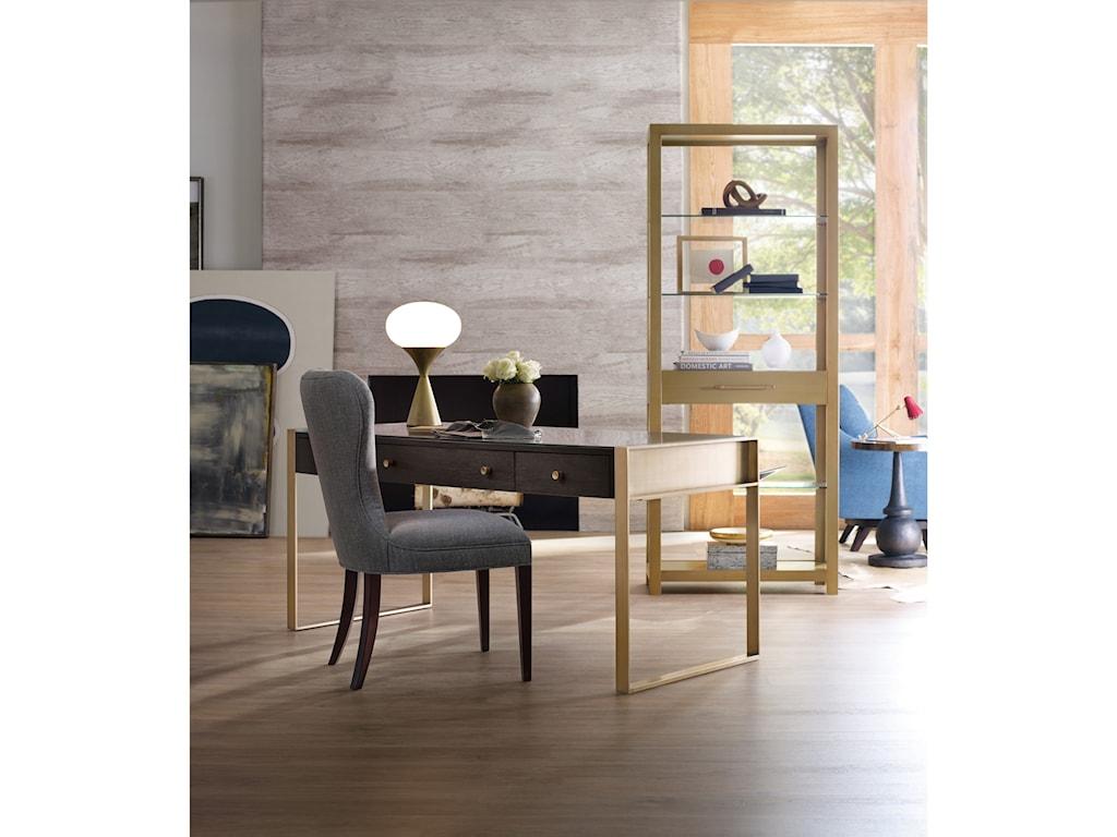 Hooker Furniture CurataModern Wooden Writing Desk