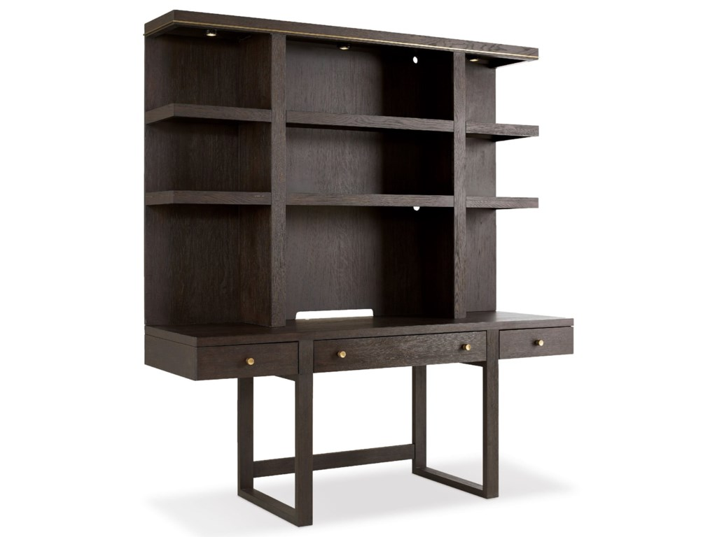 Hooker Furniture CurataWall Desk with Hutch