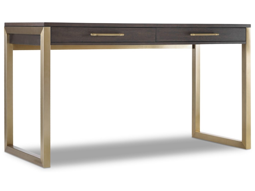 Hooker Furniture CurataTall Modern Wooden Writing Desk