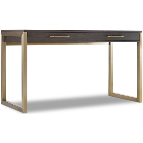 Hooker Furniture Curata Tall Modern Wooden Writing Desk