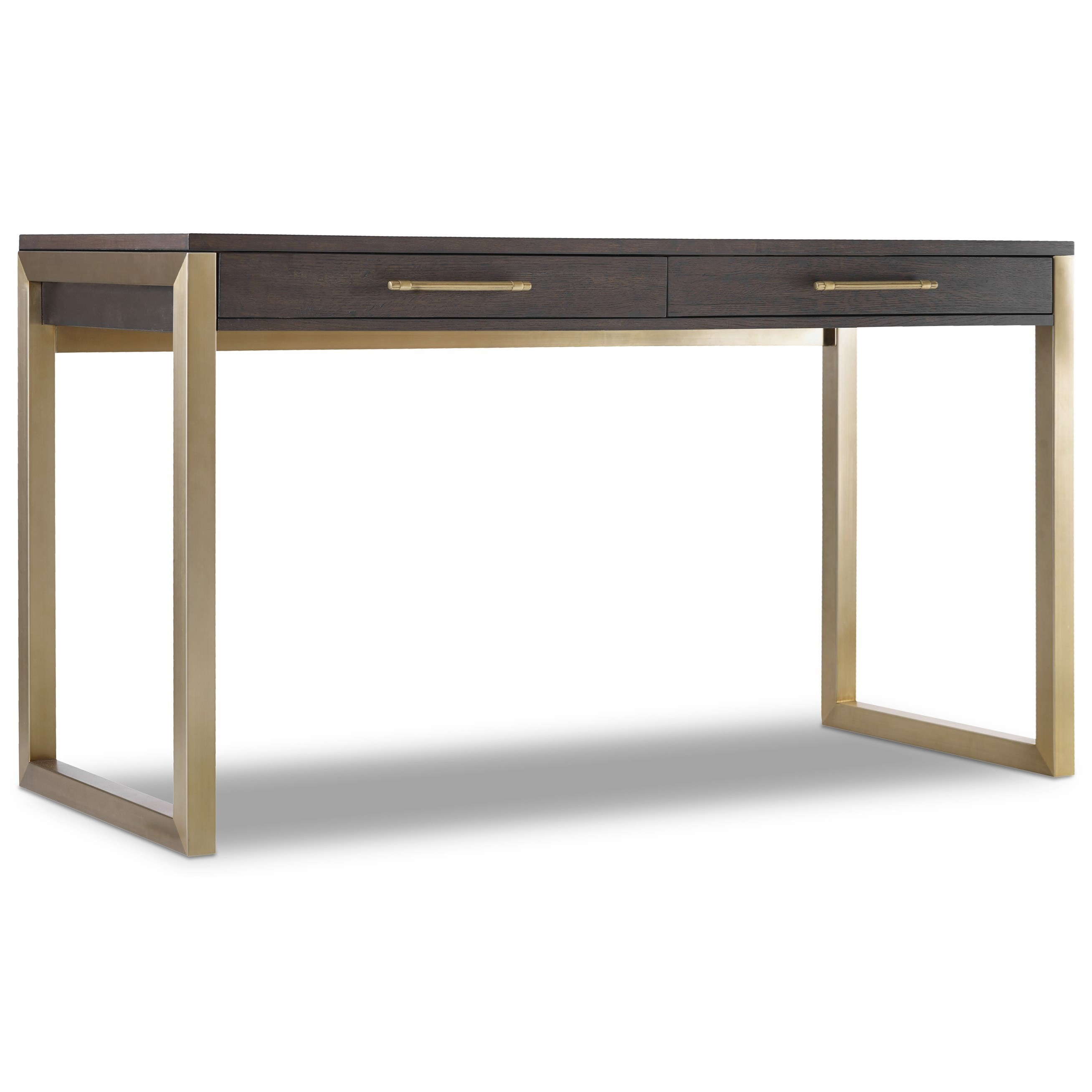 Marvelous Hooker Furniture Curata Tall Modern Wooden Writing Desk   Olindeu0027s  Furniture   Table Desks/Writing Desks