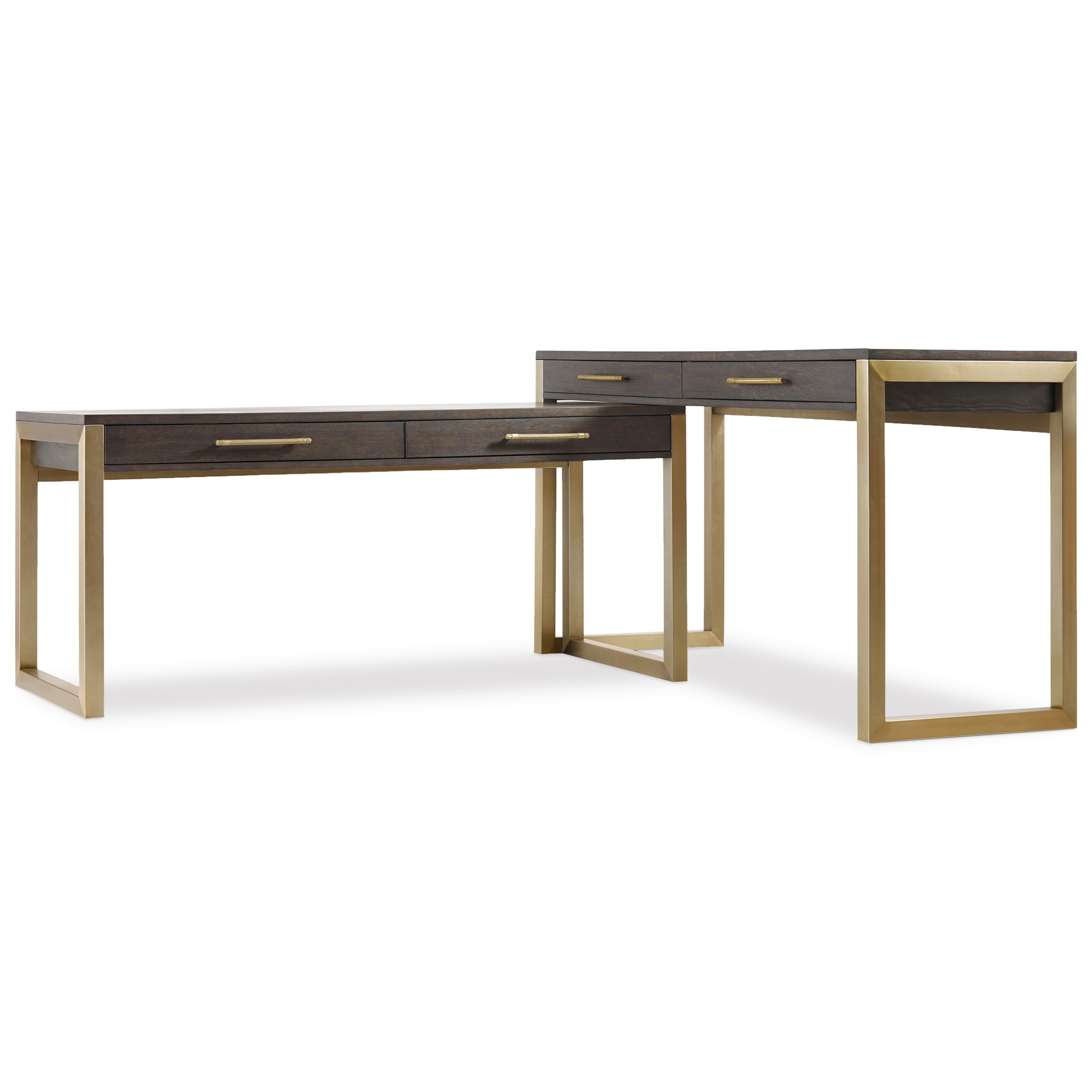 Awesome Hooker Furniture Curata Tall Modern Wooden Writing Desk