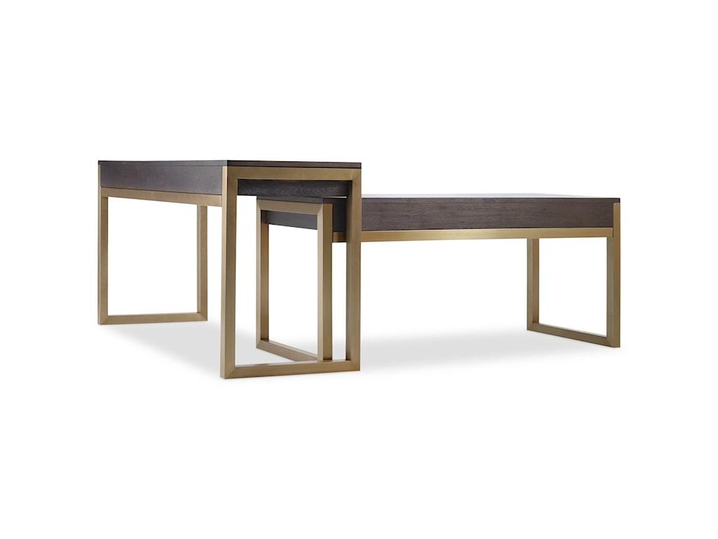 Hooker Furniture CurataTall Modern Wooden Writing Desk