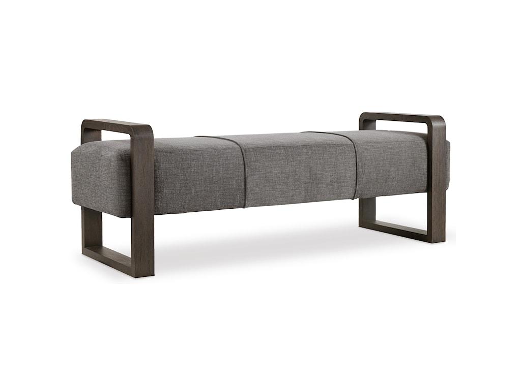 Hooker Furniture CurataModern Upholstered Bench