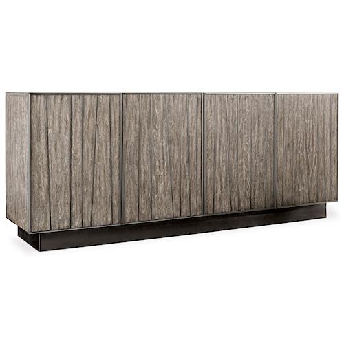 Hooker Furniture Curata Modern Wooden Entertainment Console